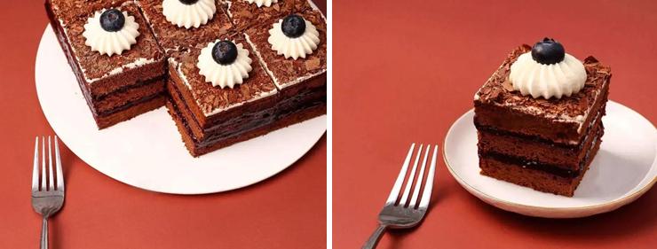 德式黑森林蛋糕 - 超声切割 - 超声波切 - 杭州驰飞超声波